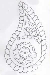 Batik Indiano desenho ll