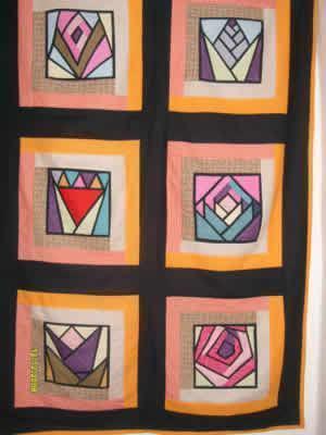 tela em patchwork