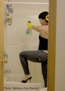 limpar azulejos e rejuntes