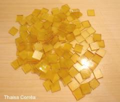 Mosaico em vidro tesselas