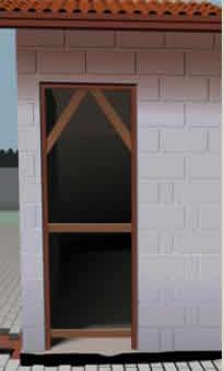 Moldura da porta