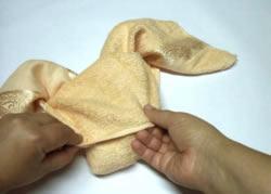 Origami de Coelho a cabeça