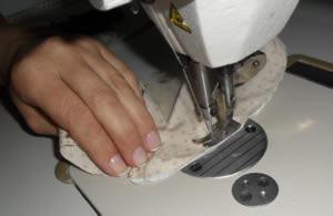 costura da parte central
