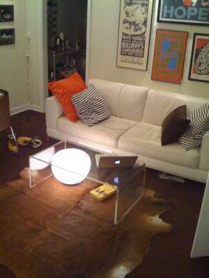 iluminação da casa - sala de estar