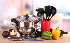 panelas utensilios cozinha