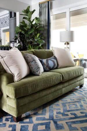 sofa veludo