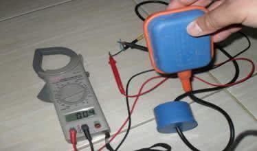 Problemas com a boia elétrica  Para testar se a bóia está funcionando