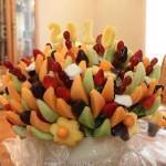 Decoração da mesa com frutas!