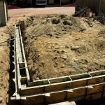 Sapatas na Construção da Casa ou Prédio