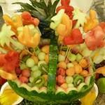 Decoração da mesa, como cortar as frutas!