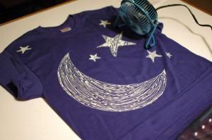Pintura ou impressão em tecidos! Camisetas, sacolas, e mais
