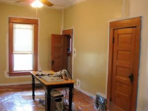 pintando a sala