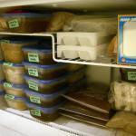 Alimentação: Congelamento de Pratos Prontos