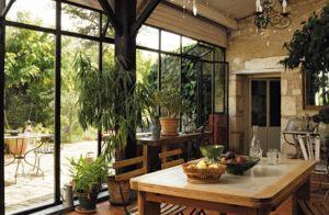 jardim interno casa de campo