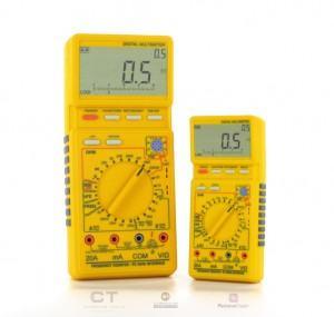 Como medir corrente alternada?