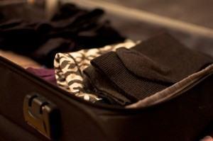 "Como fazer a mala ""pensando na temperatura""."