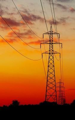 Rede de distribuição de eletricidade!