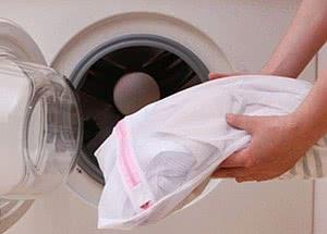 lingerie máquina de lavar saquinho