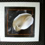 Quadro em arte francesa com moldura texturizada!