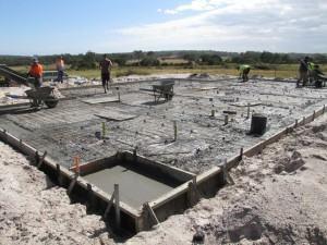 CONSTRUIR a casa… preparando o concreto!