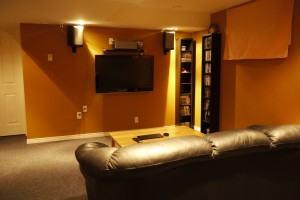 Home Theater – Iluminação!