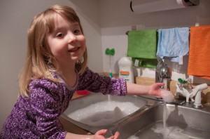 Envolvendo a Família na Limpeza