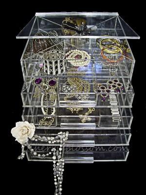 Como guardar bijuterias e joias!