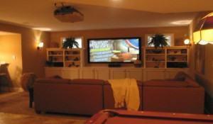 A sala de audio e video – Home Theater!