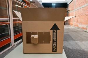 Papéis de embalagens - Caja fractal