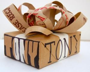 Papéis de embalagens leves e embrulhos!