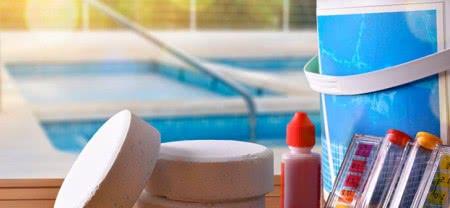 tratamento piscina cloro