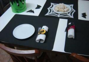 Halloween: Argolas de Guardanapos