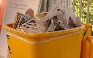 Reciclagem – Identificação de papeis usados e aparas!