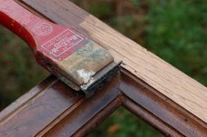 raspagem da madeira