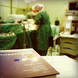 Perca medo da anestesia!