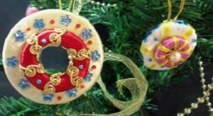 Enfeites de Arvore de Natal – Argolas pingentes decorativos