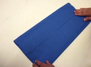como dobrar guardanapo em forma de borboleta parte 1