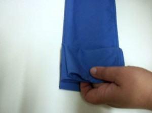 como dobrar guardanapo em forma de borboleta parte 3