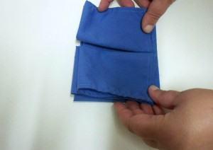 como dobrar guardanapo em forma de borboleta parte 4