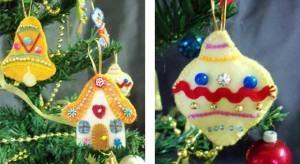 Pingentes (Enfeites) para sua Árvore de Natal! Como fazer?
