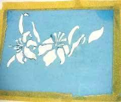 estencil-silk