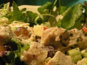 Salada Crocante para o Natal e Ano Novo
