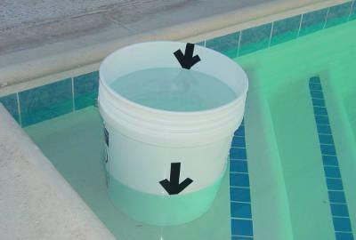 vazamento da piscina