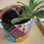 Pintura Patchwork em Vasos