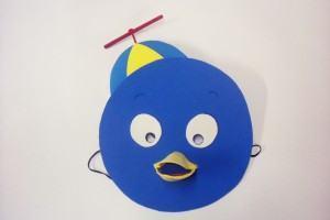 Como fazer máscaras dos Backyardigans: Pablo
