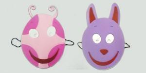 Como fazer as máscaras dos Backyardigans: Uniqua e Austin