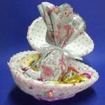Embalagem de Páscoa – caixa de presentes com ovo de Isopor!
