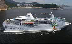 Companhias de navegação - cruzeiro island