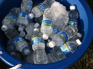 água para hidratar