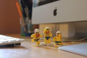 organizando a mesa de trabalho